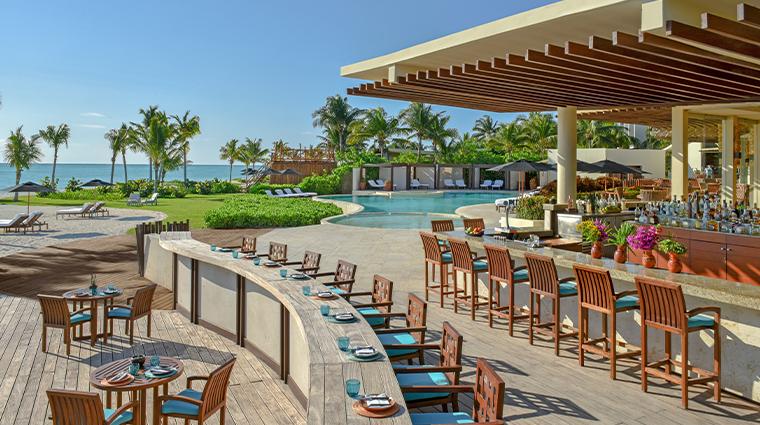 rosewood mayakoba punta bonita pool bar