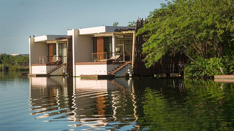 rosewood mayakoba two Deluxe Overwater Suites Exterior
