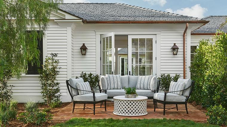 rosewood miramar beach garden bungalow suite terrace