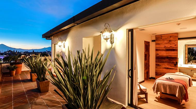 rosewood puebla spa cabins