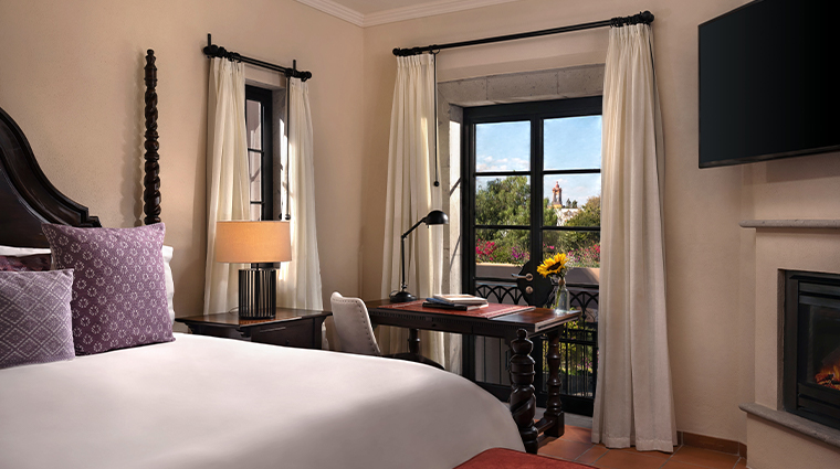 rosewood san miguel de allende guestroom view