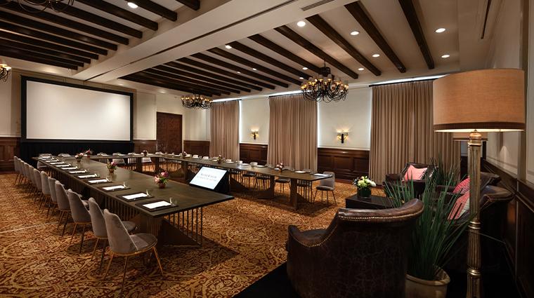 rosewood san miguel de allende meeting room