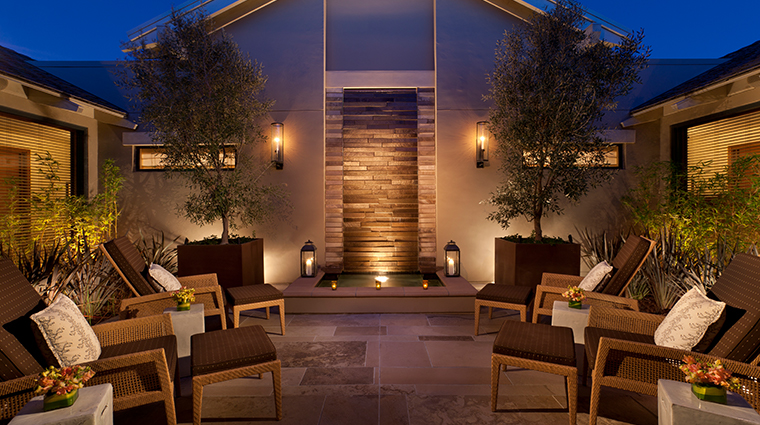 rosewood sand hill spa exterior