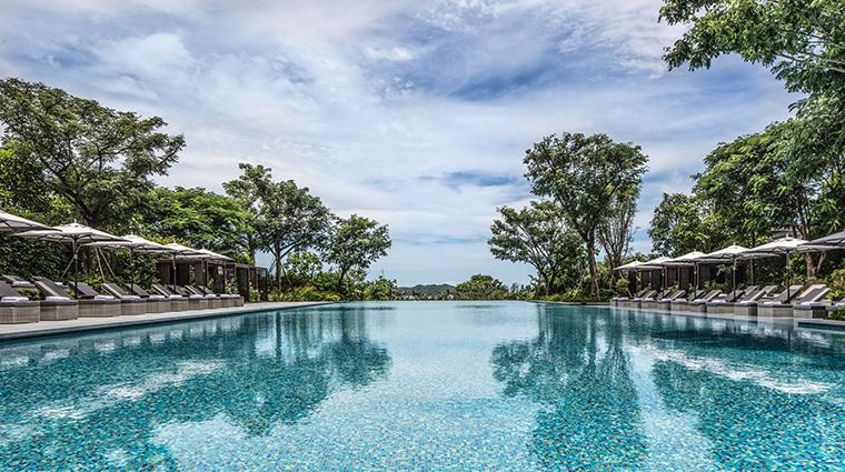 rosewood sanya garden pool