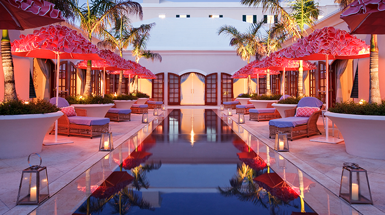 rosewood tuckers point Sense Spa reflection pool