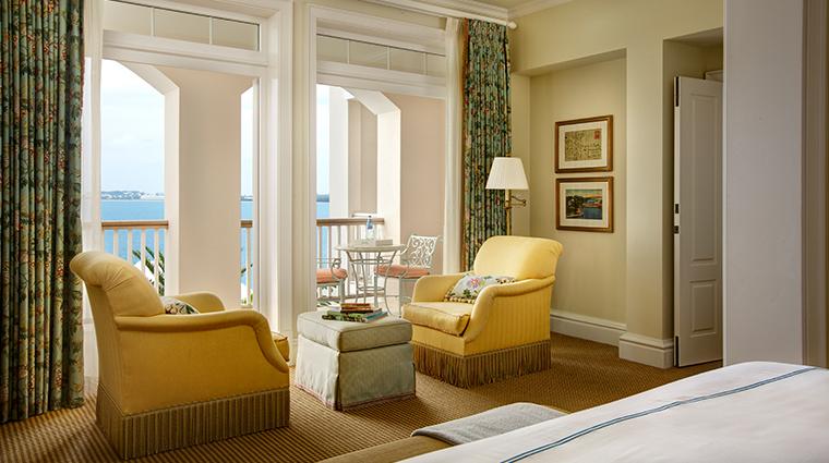 rosewood tuckers point Villa Suite bedroom