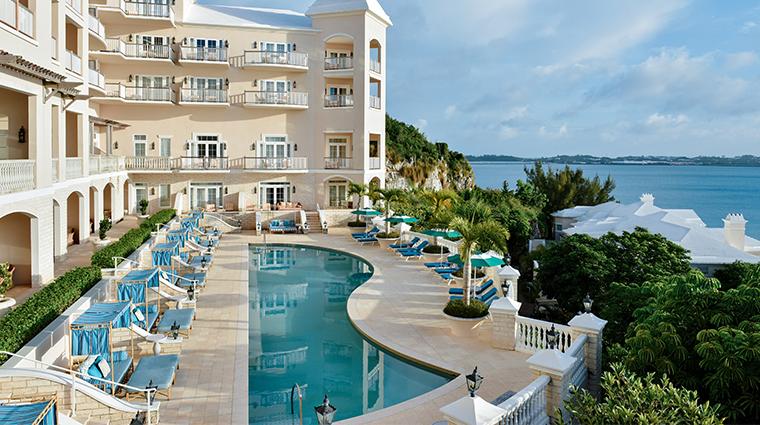 rosewood bermuda harbour court pool