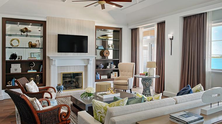 rosewood bermuda royal suite living