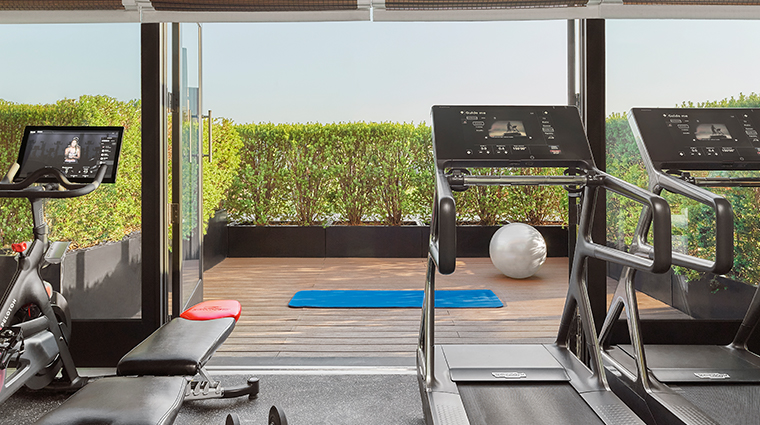 rosewood washington dc fitness room
