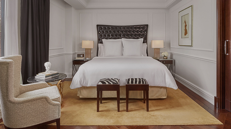 rosewood washington dc presidential suite bedroom