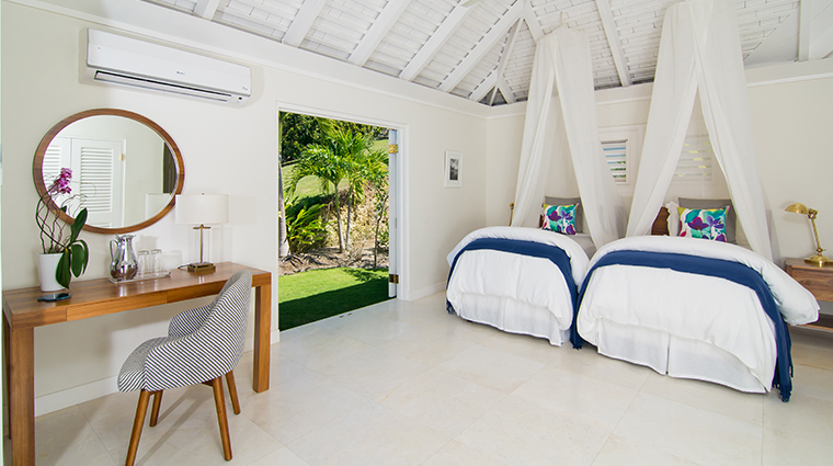 round hill hotel and villas luxury villa twin bed suite