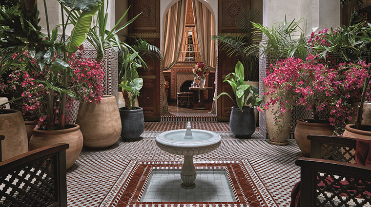 royal mansour marrakech privilege patio