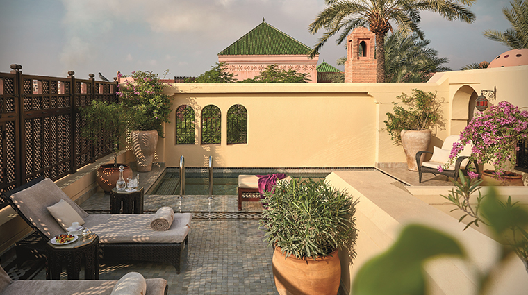royal mansour marrakech privilege terrace