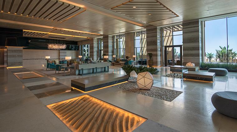 saadiyat rotana resort and villas lobby
