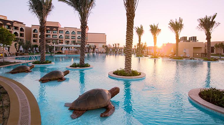 saadiyat rotana resort and villas pool