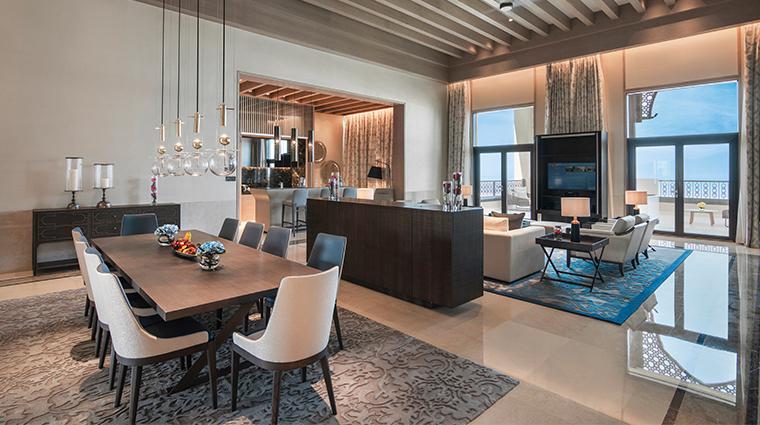 saadiyat rotana resort and villas royal suite living room