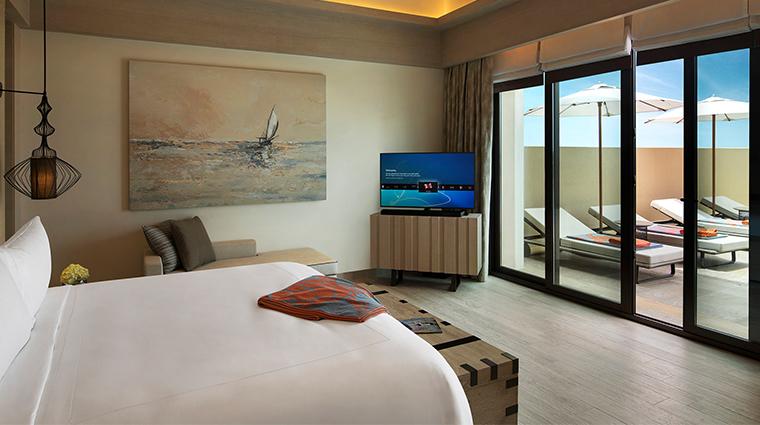 saadiyat rotana resort and villas villa bedroom
