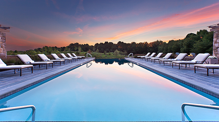 salamander resort spa pool