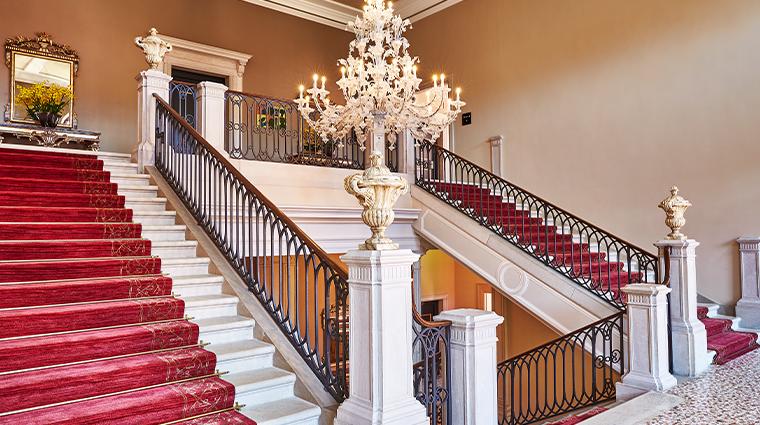 san celmente palace kempinski staircase12