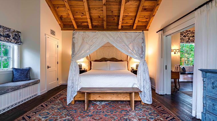 10 san ysidro ranch lilac bedroom