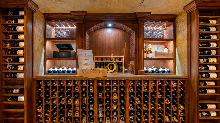 16 san ysidro ranch wine cellar