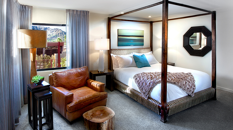 The Sanctuary on Camelback Mountain Resort and Spa bedroom view