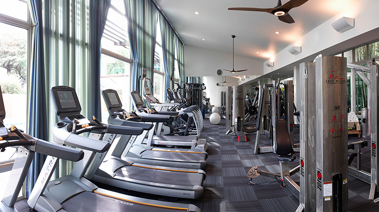 The Sanctuary on Camelback Mountain Resort and Spa fitness room