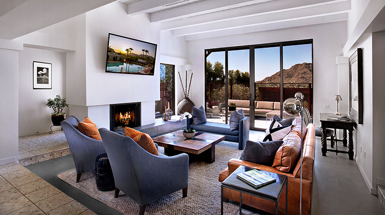 The Sanctuary on Camelback Mountain Resort and Spa living room view