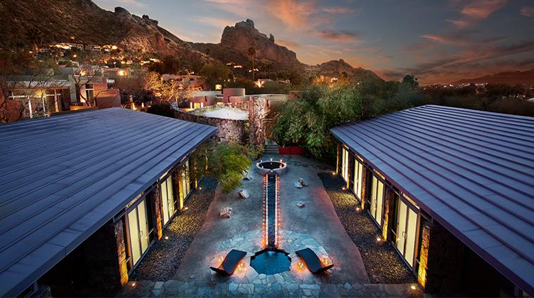 sanctuary on camelback mountain resort spa spa courtyard