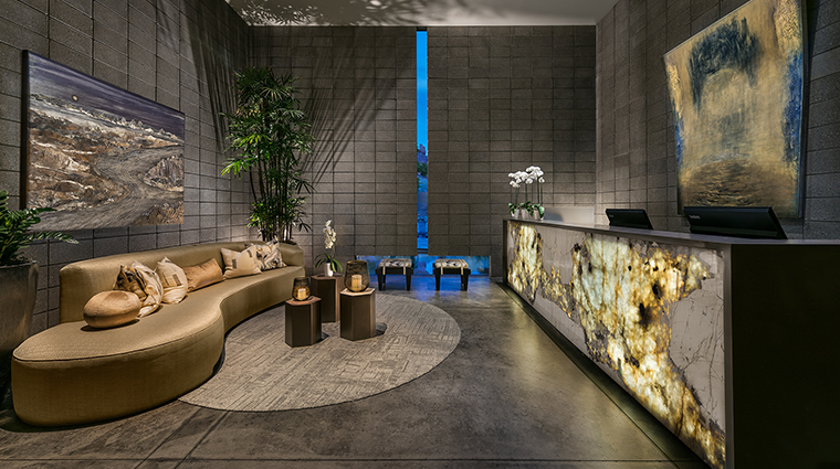 sanctuary spa lobby