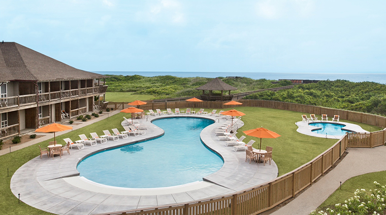 sanderling resort pool