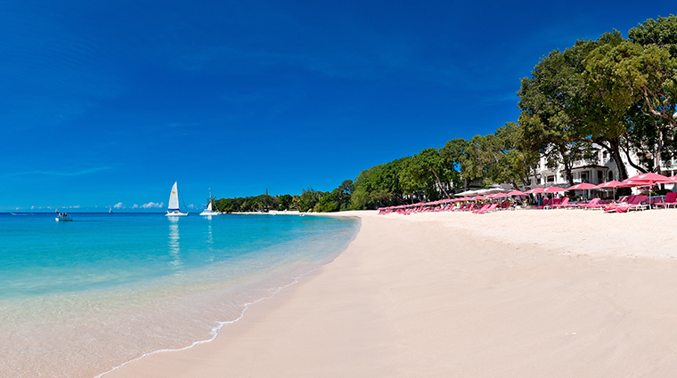 sandy lane hotel beach