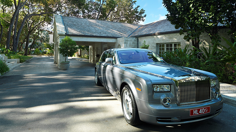 sandy lane hotel rolls royce