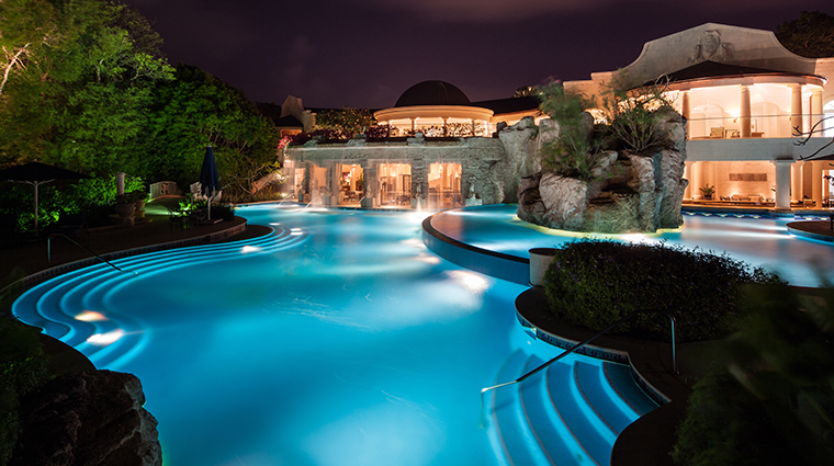 sandy lane hotel spa pool