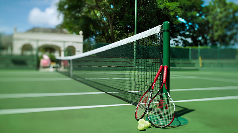 sandy lane hotel tennis club