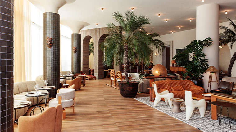 santa monica proper hotel sitting area3