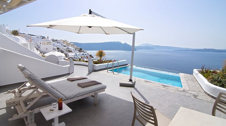 santorini secret suites spa grand suite outdoor