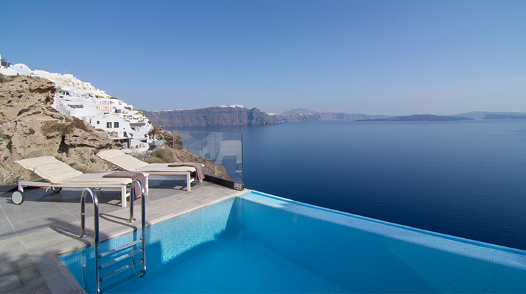 santorini secret suites spa infinity suite outdoor pool