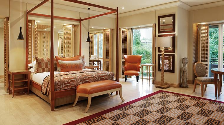 saxon hotel villas and spa presidential suite bedroom