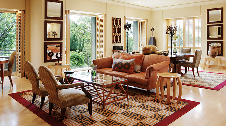 saxon hotel villas and spa presidential suite living area