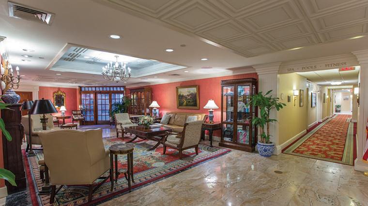 saybrook point inn marina spa lobby