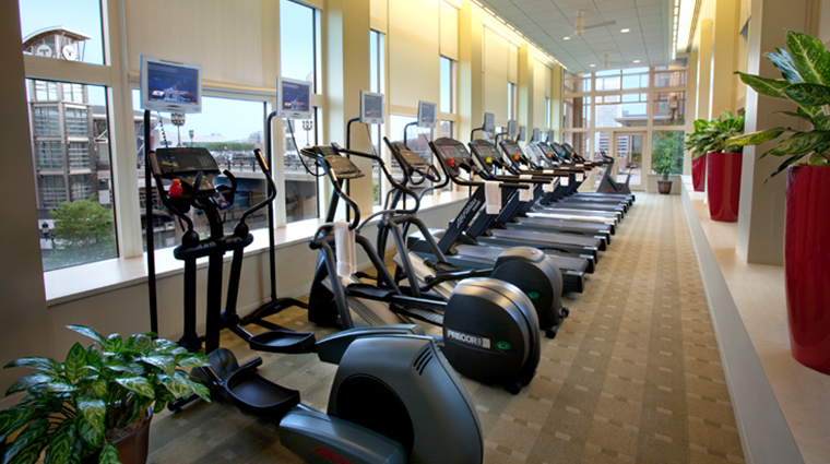 seaport hotel world trade center wave health and fitness