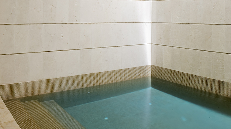 sense a rosewood spa at mayakoba plunge pool