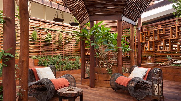 sense a rosewood spa at mayakoba sensory garden