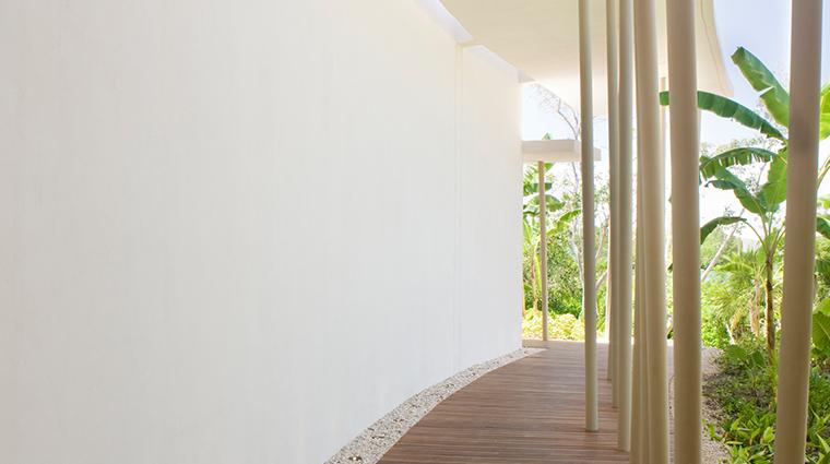 sense a rosewood spa at mayakoba spa corridor