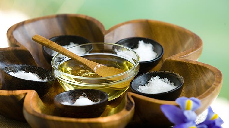sense a rosewood spa at mayakoba treatment supplies
