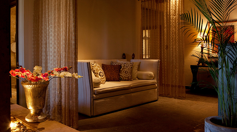 sense a rosewood spa at san miguel de allende seating area