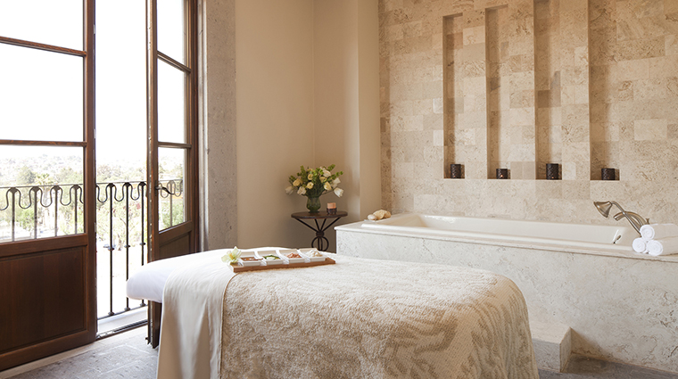 sense a rosewood spa at san miguel de allende treatment room