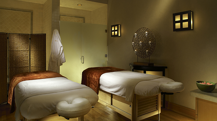 sense spa cordevalle couples massage room