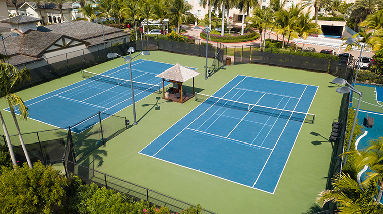 seven stars resort spa tennis